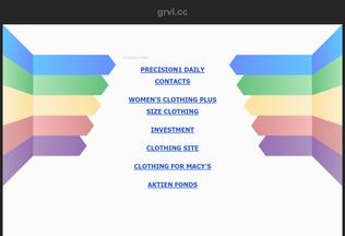 Website grvl.cc desktop preview