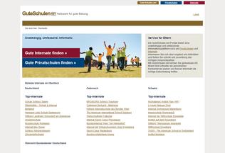 Website guteschulen.net desktop preview