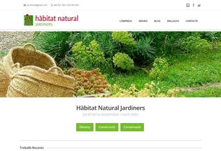 Website habitatnatural.cat desktop preview