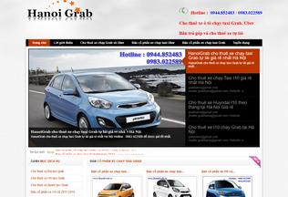 Website hanoigrab.vn desktop preview