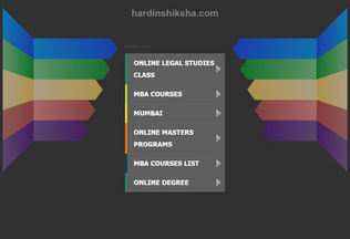Website hardinshiksha.com desktop preview