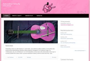 Website harhaa.org desktop preview