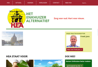 Website heaenkhuizen.nl desktop preview