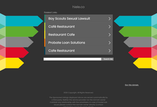 Website hiele.co desktop preview