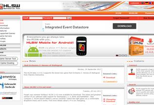 Website hlsw.org desktop preview