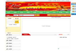 Website hncy119.cn desktop preview
