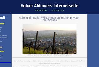 Website holger-aldinger.de desktop preview
