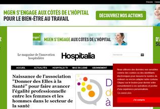 Website hospitalia.fr desktop preview
