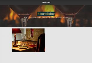 Website hourmining.biz desktop preview