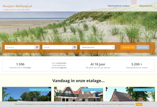 Website huizen-holland.nl desktop preview