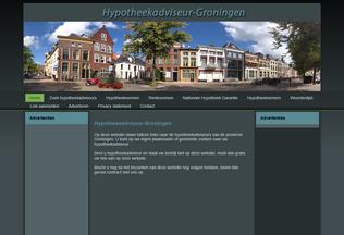 Website hypotheekadviseur-groningen.nl desktop preview