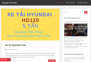 Website hyundaivinhphuc.ga desktop preview