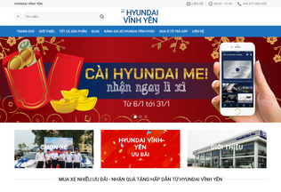 Website hyundaivinhyen.ml desktop preview
