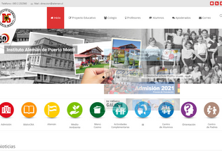 Website ialeman.cl desktop preview