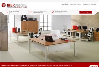 Website iberperfil.com desktop preview