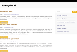 Website ifenmagvive.ml desktop preview
