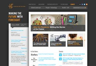 Website iftf.org desktop preview