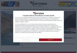 Website ilgoriziano.it desktop preview