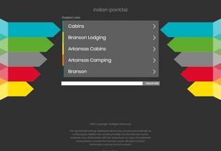 Website indian-point.biz desktop preview