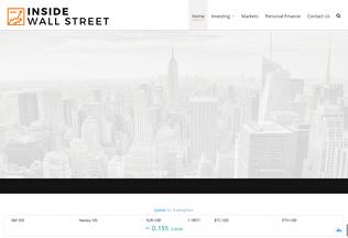 Website insidewallstreet.org desktop preview