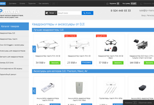 Website ip-mania.ru desktop preview