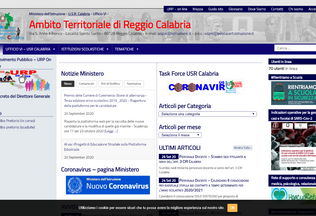 Website istruzioneatprc.it desktop preview