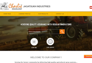 Website jagatsukh.net desktop preview