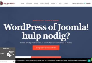 Website janvankuijk.nl desktop preview