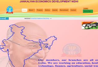 Website jednidhi.com desktop preview