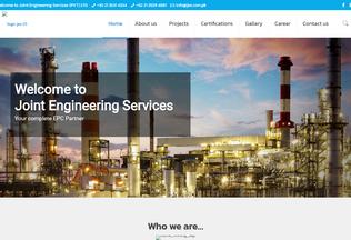 Website jes.com.pk desktop preview