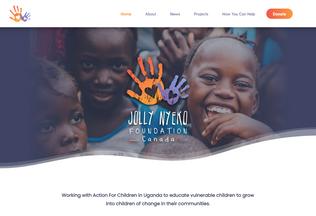 Website jnfcanada.org desktop preview