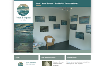 Website johanborgman.nl desktop preview
