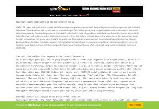 Website joker123indo.wildapricot.org desktop preview