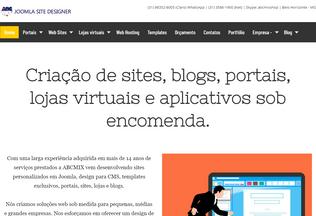 Website joomlasitedesigner.com desktop preview