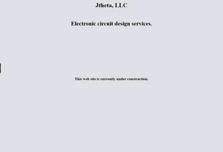 Website jtheta.com desktop preview