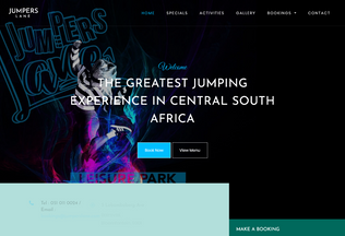 Website jumperslane.co.za desktop preview