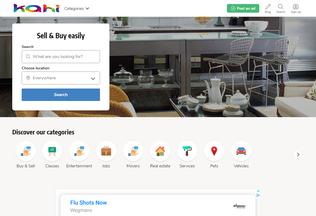 Website kahi.in desktop preview