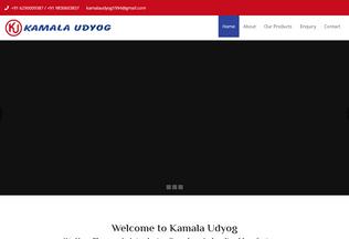 Website kamalaudyog.in desktop preview