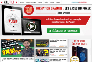 Website kill-tilt.fr desktop preview