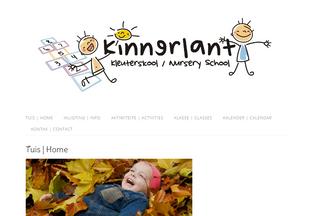 Website kinnerlant.co.za desktop preview