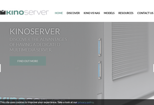 Website kinoserver.net desktop preview