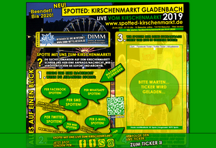 Website kirschenmarkt-gladenbach.de desktop preview