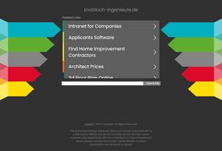 Website knobloch-ingenieure.de desktop preview