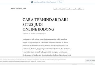 Website koderefferaljudi.wordpress.com desktop preview