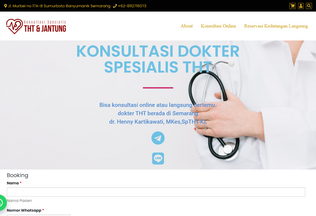 Website konsultasispesialis.com desktop preview