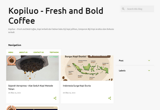 Website kopiluo.com desktop preview