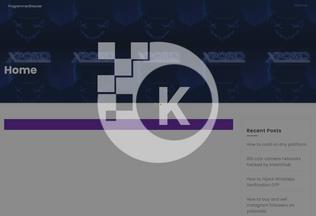 Website kreamhub.co.zw desktop preview