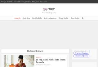 Website kredinotu.gen.tr desktop preview