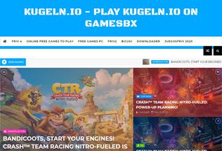 Website kugelnio.tk desktop preview