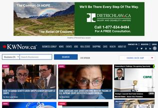 Website kwnow.ca desktop preview